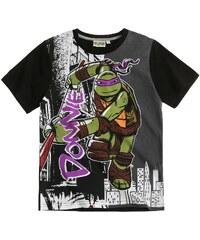 Ninja Turtles T-Shirt schwarz in Größe 116 für Jungen aus 100% Baumwolle