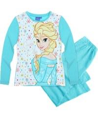 Disney Die Eiskönigin Pyjama türkis in Größe 104 für Mädchen aus 100% Baumwolle