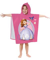 Disney Sofia die Erste Kapuzen-Handtuch pink in Größe UNI für Mädchen aus 100% Baumwolle