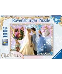 Disney Princess Puzzle lila in Größe UNI für Mädchen