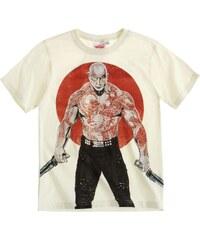 Guardians of the Galaxy T-Shirt weiß in Größe 134 für Jungen aus 100% Baumwolle