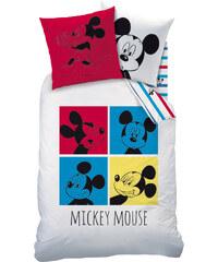 Disney Mickey Bettwäsche weiß in Größe UNI für Jungen aus 100 % Baumwolle 100% Baumwolle