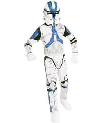 Star Wars-The Clone Wars Kostüm weiß in Größe S für Jungen aus Obermaterial: 100% Polyester