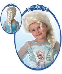 Disney Die Eiskönigin Elsa Kinderperücke weiß in Größe UNI für Mädchen aus Obermaterial: 100% Polyester