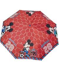 Disney Mickey Regenschirm rot in Größe UNI für Jungen aus 100% Polyamid