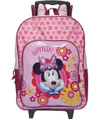 Disney Minnie Schultasche rosa in Größe UNI für Mädchen aus 100 % Polyester