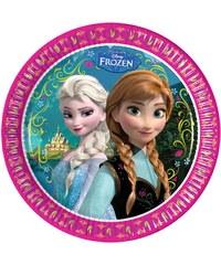 Disney Die Eiskönigin Pappteller pink in Größe UNI für Mädchen