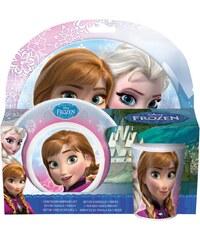 Disney Die Eiskönigin Frühstücksset, 3 teilig pink in Größe UNI für Mädchen
