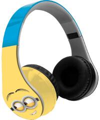 Minions Bluetooth Stereo Kopfhörer hellblau in Größe UNI für Jungen