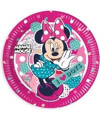 Disney Minnie Pappteller pink in Größe UNI für Mädchen