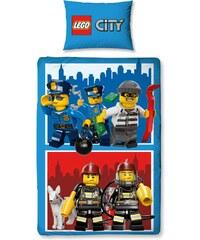 LEGO Bettwäsche blau in Größe UNI für Jungen aus 50% Baumwolle 50% Polyester