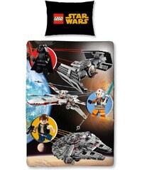 LEGO Bettwäsche schwarz in Größe UNI für Jungen aus 50% Baumwolle 50% Polyester