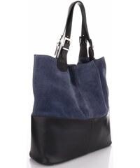 Genuine Leather Kožená kabelka exkluzivní Shopper bag Jeans