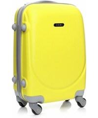 Palubní kufřík Ultra Light Or&Mi 4 kolečka žlutý