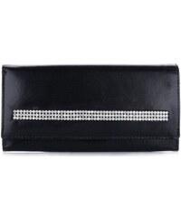 Dámská kožená peněženka Rovicky Cristal Collection černý
