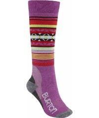 ponožky BURTON - W Trillium Sk 3Pr Grapeseed (505)