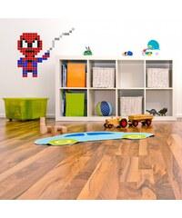 Puzzlove Dekorativní samolepící puzzle Spiderman