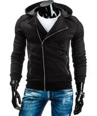 Pánská přechodová bunda s kapucí JACK DAVIS černá