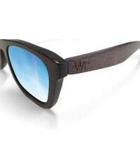 Wood Fellas Jalo Mirror Sonnenbrille brown/blue