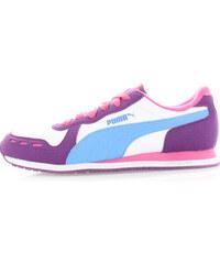 Dámské fialovo-bílé tenisky Puma Cabana Racer SL