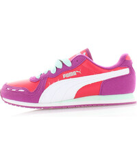 Dámské fialovo-červené tenisky Puma Cabana Racer SL