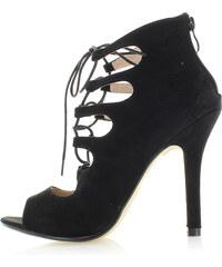 Moow Černé sandály Amelien