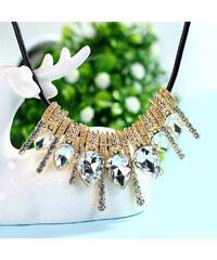 Lesara Statement-Halskette mit Kristallen & Strass