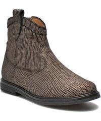 Hobo boots sivar par Pom d Api