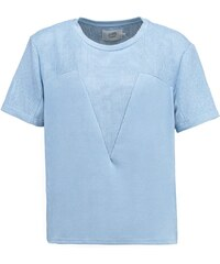 Denim Hunter TShirt print chambray blue