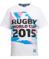 Rugby World Cup Jungen Map T-Shirt Weiß