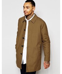 ASOS - Trench-coat droit imperméable - Tabac - Beige