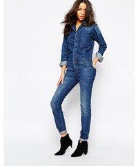 BA&SH - Madison - Jeans-Overall - Blau