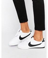 Nike - Cortez - Baskets en cuir - Blanc - Blanc