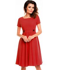 Awama Červené šaty A135