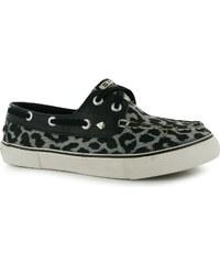 boty British Knights Deck Leopard dámské Boat Shoes Grey/Leopard
