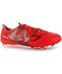 Kopačky adidas F50 Leather FG Solar Red/White