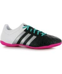 adidas Ace 15.4 pánské Indoor Football Trainers Black/Silv/Wht