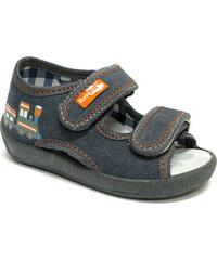 Ren But Dětské sandálky na suchý zip s vláčkem
