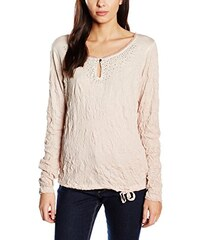TOM TAILOR Damen T-Shirt Carli Christmas Crinkle/510