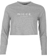 Nicce Aruna Top Grey
