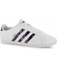boty adidas Coneo QT Leather dámské White/Navy/Pink