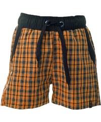 O'Style Dětské outdoorové šortky - check orange