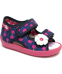 Ren But Dětské sandálky na suchý zip s kytičkou