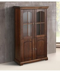 Highboard Juara 3 Höhe 148 cm HOME AFFAIRE braun