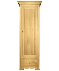 Dielenschrank Heine Home braun H/B/T ca.189/68/41cm, Garderobenschrank Holztür