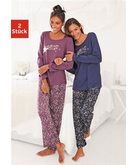 Pyjamas (2 Stück) mit Sternenprint Vivance Dreams Farb-Set 32/34,36/38,40/42,44/46,48/50,52/54,56/58