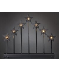 hellum LED - Metall-Leuchter HELLUM schwarz