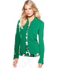 CRÉATION L Damen Création L Jersey-Blazer mit Innenfutter grün 36,38,40,42,44,46,48,50,52