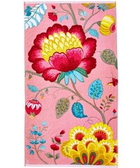 Handtücher Studio Floral Fantasy mit großen Blüten PIP STUDIO rosa 2xHandtücher 55x100 cm
