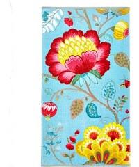 PIP STUDIO Handtücher Studio Floral Fantasy mit großen Blüten grün 2xHandtücher 55x100 cm